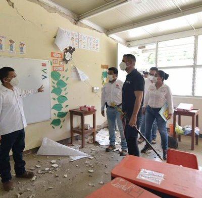 Solicitará Gobierno de Oaxaca, declaratoria de desastre para 243 municipios que resultaron dañados tras sismo
