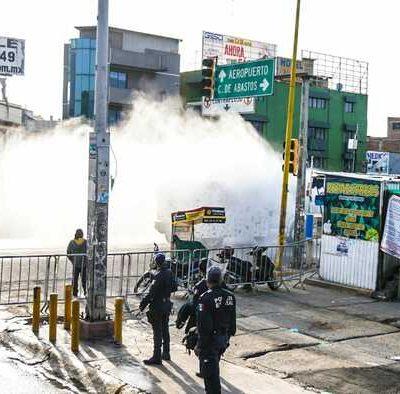 Se han sanitizado calles y avenidas en 155 municipios de Oaxaca