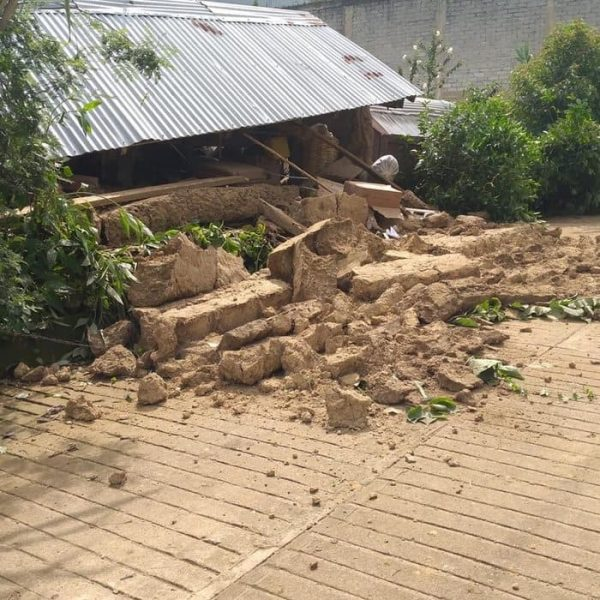 Sube a 10 el número de muertos en Oaxaca por sismo, informó el Gobernador Murat