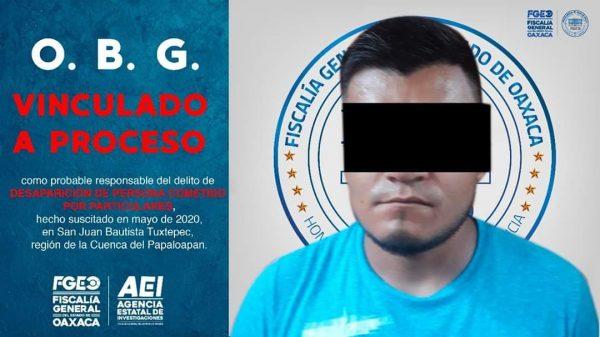 Vinculan a proceso probable secuestrador de Casandra en Tuxtepec