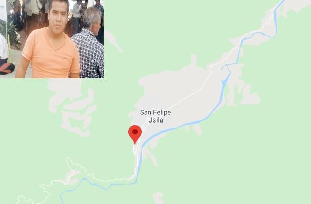 Ejecutan al Director de Protección Civil de San Felipe Usila