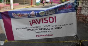 Cierran mercado Vicente Guerrero de Loma Bonita, por covid