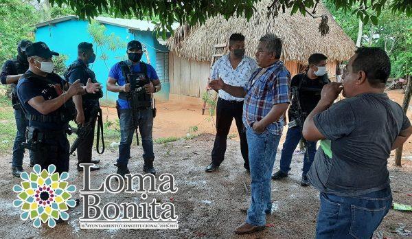 Suspende gobierno de Loma Bonita fiesta particular