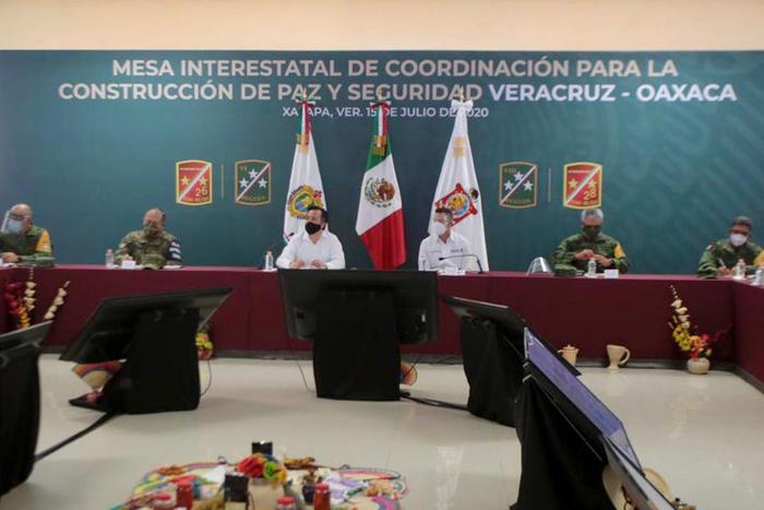 En Oaxaca y Veracruz, da resultados positivos Estrategia Biestatal de Coordinación en Materia de Seguridad