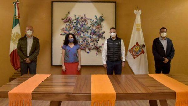 Acuerdan Alejando Murat e Insabi, acciones para hacer de Oaxaca un ejemplo en atención a la salud a nivel nacional