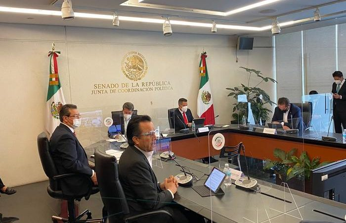 Encabeza AMH Mesa de Trabajo de la Junta de Coordinación Política sobre el Código Nacional de Procedimientos Penales