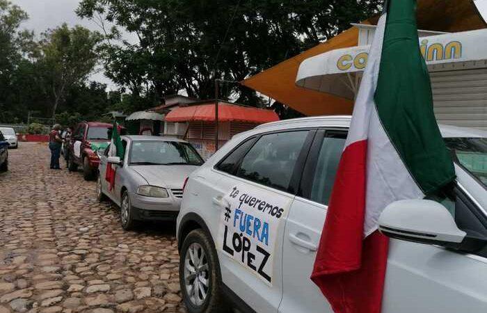 A pesar de criticas, caravanas anti AMLO seguirán en Oaxaca
