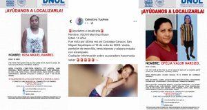 En lo que va de Julio, reportan 3 jóvenes desaparecidas en la Cuenca