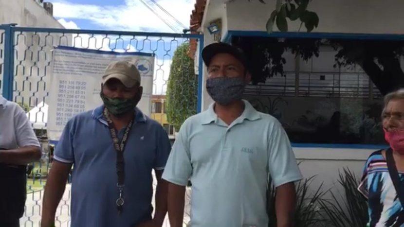 Desplazados de San Miguel Copala se manifiestan en la DDHPO