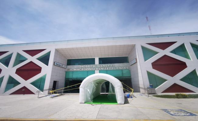 Hospital Macedonio Benítez Fuentes vuelve a operaciones en Juchitán