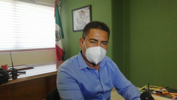 Bajo índice de Covid en Jacatepec, es porque ciudadanía respeta la contingencia: Edil