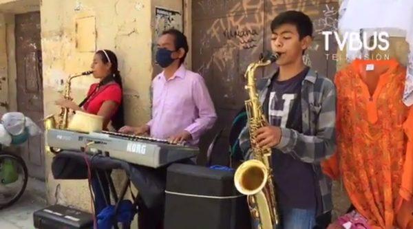 Músicos callejeros denuncian nulo apoyo del gobierno de Oaxaca de Juárez
