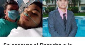 En riesgo atención médica para Pedro Lezama; familia pide ayude por Change.org