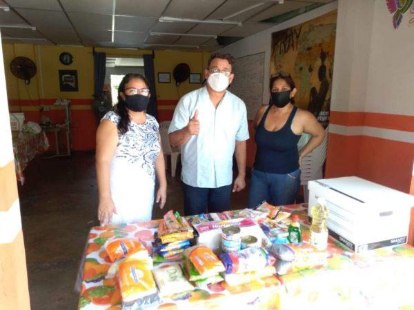 Reabren comedor Social en Tuxtepec; piden apoyo con despensas