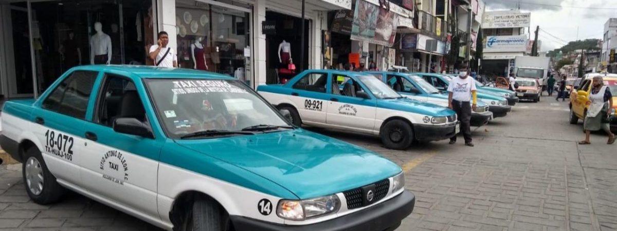 Transportistas de Huajuapan serán sancionados si no acatan las medidas sanitarias