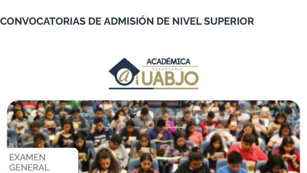 Por contingencia, UABJO pospone examen de admisión
