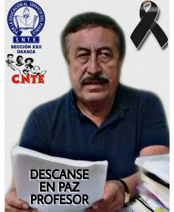 Fallece en Tuxtepec, el Secretario de Jubilados y pensionados de la S-22