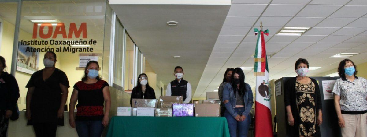 IOAM entrega restos de migrantes fallecidos por Covid en Estados Unidos