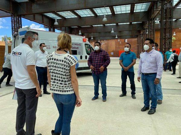 Contará Valle con ambulancia nueva y medicamentos para combatir el covid
