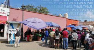 Vendedores ambulantes, se disputan espacios en las calles de Oaxaca
