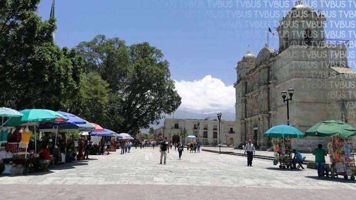 Regresan ambulantes a centro histórico y zócalo de Oaxaca