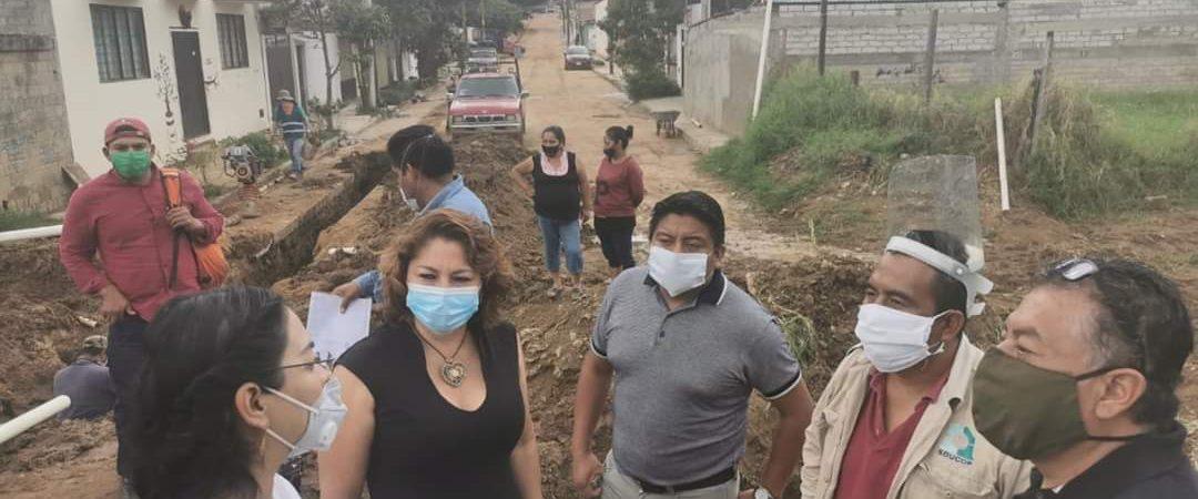 Gobierno municipal de Amilpas y SAPAO, continúan trabajando para mejorar calidad de vida de sus habitantes