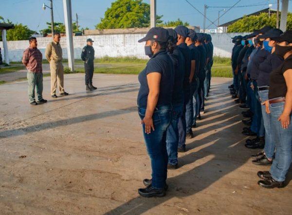 Inician Curso de Formación aspirantes a la Policía Municipal de Tuxtepec