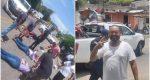 Chofer de la presidenta municipal de Santo Domingo Tehuantepec arrolla a motociclistas