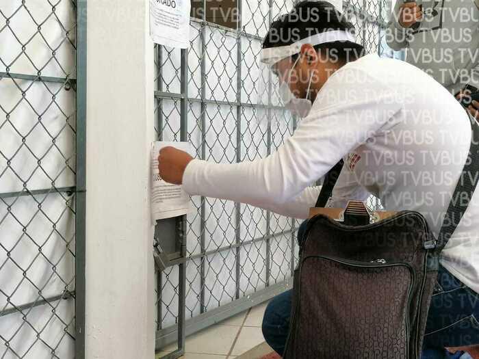 Vecinos logran clausura de laboratorio tras bloqueo; no contaba con permisos afirma Ayuntamiento de Oaxaca