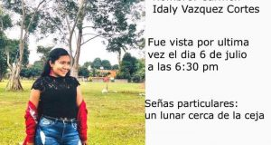 Desaparece otra joven Tuxtepecana, en la colonia Martha Luz