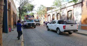 Tras 5 días, levantan plantón en Casa Oficial despojados de Lomas del Quio