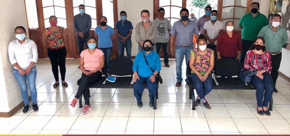 Refuerzan medidas de prevención en Juquila por incremento de casos Covid