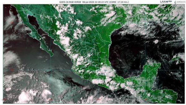 Se prevén lluvias intensas en Guerrero, Michoacán y Oaxaca