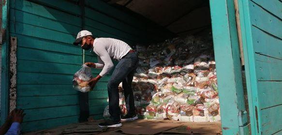 En Loma Bonita, entregarán alrededor de 12 mil despensas