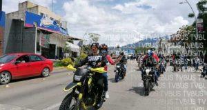 Motociclistas exigen más seguridad en la ciudad de Oaxaca