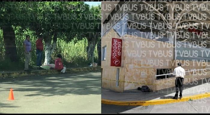 Fallecen dos personas en la calle, una en Tuxtepec y otra en Oaxaca