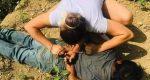 Mujer evita abuso de un menor y somete a presunto violador en Huejutla