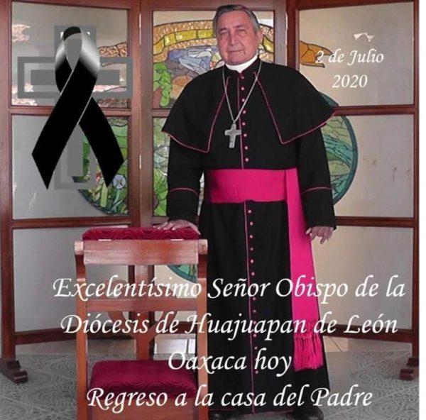 Confirman muerte de Obispo de Huajuapan