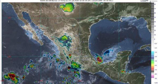 Onda tropical número 24 traerá lluvias para Oaxaca Guerrero y Chiapas