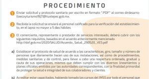 Anuncia Ayuntamiento de Tuxtepec, protocolo para reapertura con