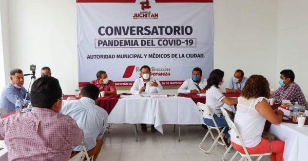 Discuten toque de queda en Juchitán por contagios de covid