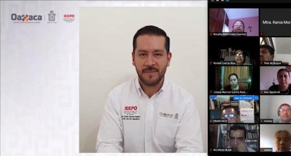 Promueve IEEPO capacitación virtual de docentes de Escuelas Normales