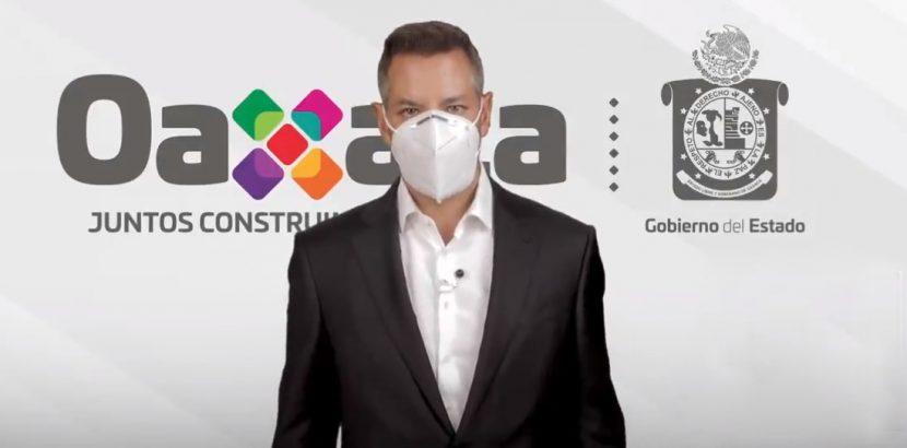 Convoca Alejandro Murat a sumarse al reto 40 días por Oaxaca con el uso correcto del cubrebocas