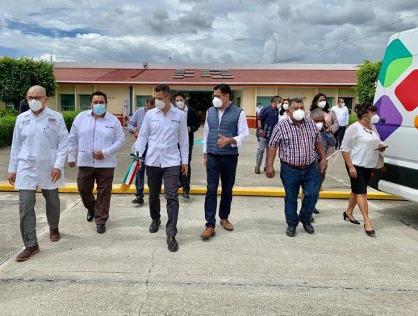 Gobierno del Estado regulariza predios del complejo hospitalario de San Bartolo Coyotepec