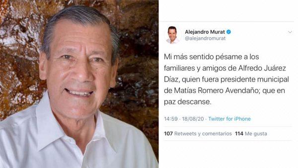 Fallece Presidente de Matías Romero, por covid