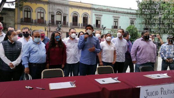 Arranca MORENA en Oaxaca recolección de firmas para juicio contra ex presidentes