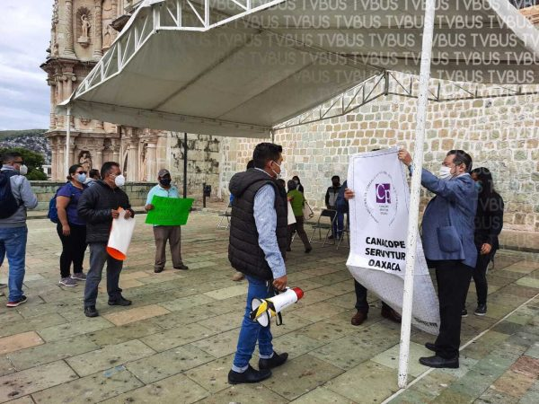 Posibles actos de corrupción en municipio de Oaxaca de Juárez: CANACOPE