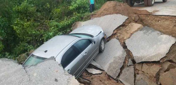 Verifica CEPCO daños ocasionados por lluvia en Oaxaca