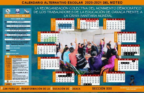 Sección 22 presenta calendario alternativo; iniciarán el ciclo escolar el siete de septiembre