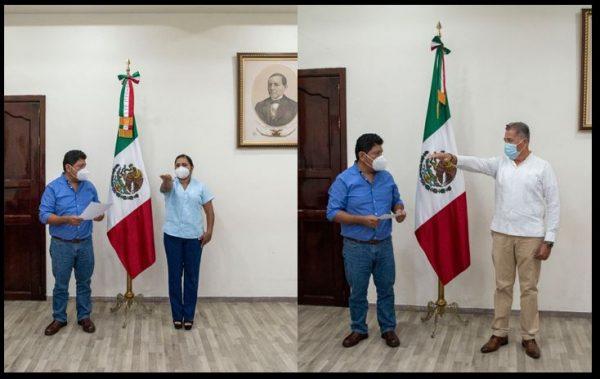 Nombran nuevos funcionarios en la Administración Municipal de Tuxtepec